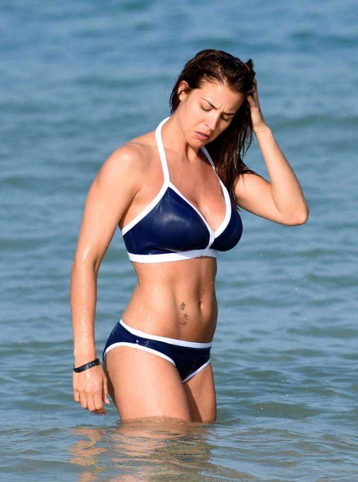 Gemma Atkinson #GemmaAtkinson in Blue Bikini in Kap Verde March-2017 Celebstills Bikini G Gemma Atkinson