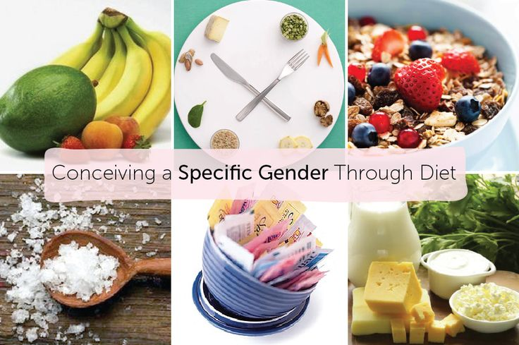 Conceiving a Specific Gender Through Diet — Baby FoodE | Adventurous Recipes for Babies + Toddlers