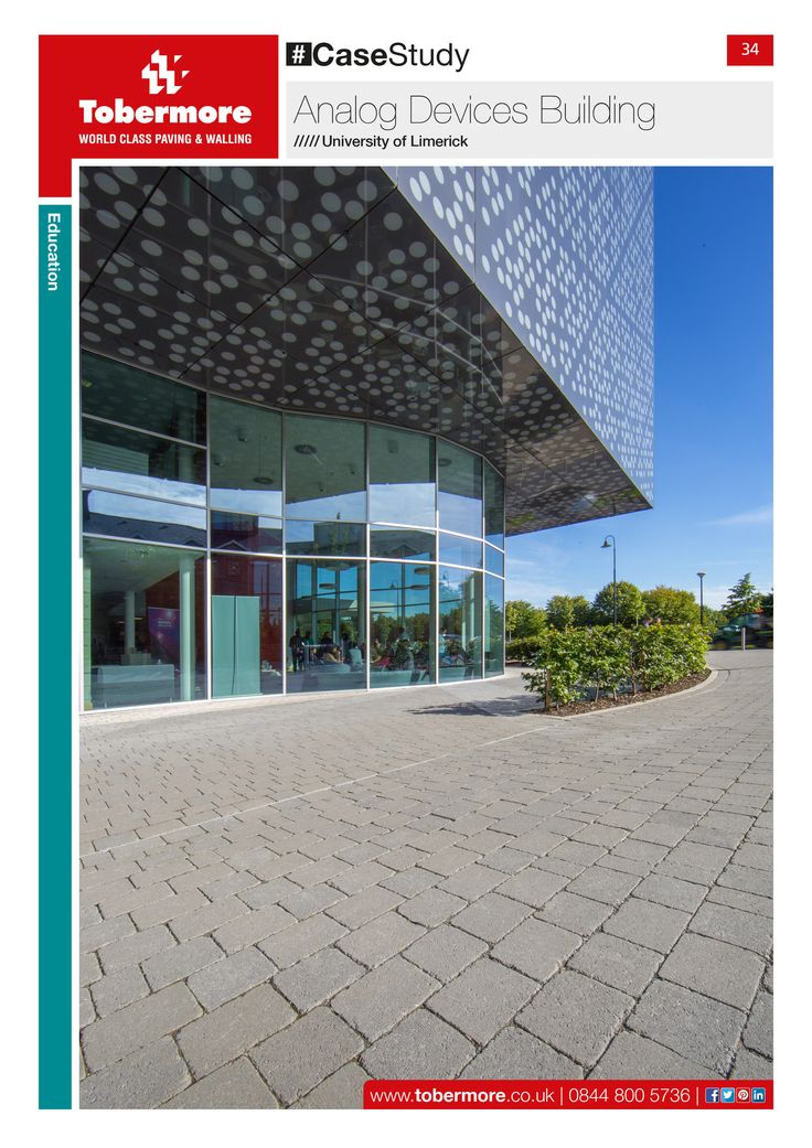 Tobermore Case Study No.34 Analog Devices Building, University of Limerick