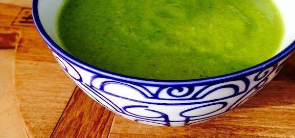 Detox brocolli soep