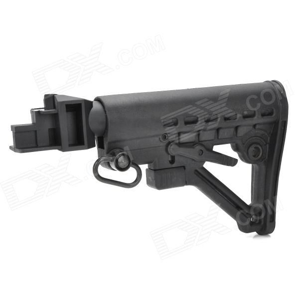 Nylon Plastic Butt Stock for AK Gun Series - Black Price: $23.50