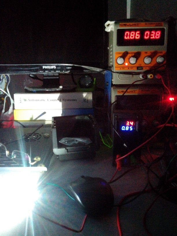 Single led #test