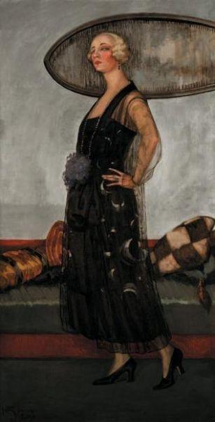 Artist Henri Visconte