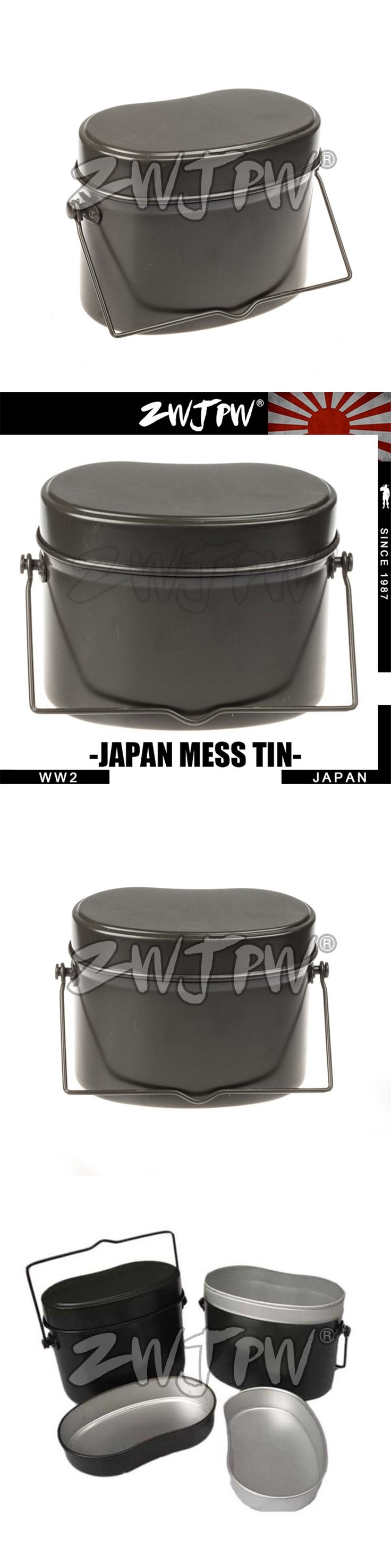 WWII WW2 JAPAN ARMY ALUMINIUM LUNCH BOX CAMPING HIKING MESS TIN LUNCH BOX JP/102101