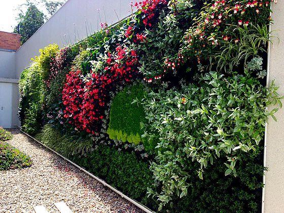 M s de 25 ideas fant sticas sobre muros verdes en - Como hacer jardines verticales ...