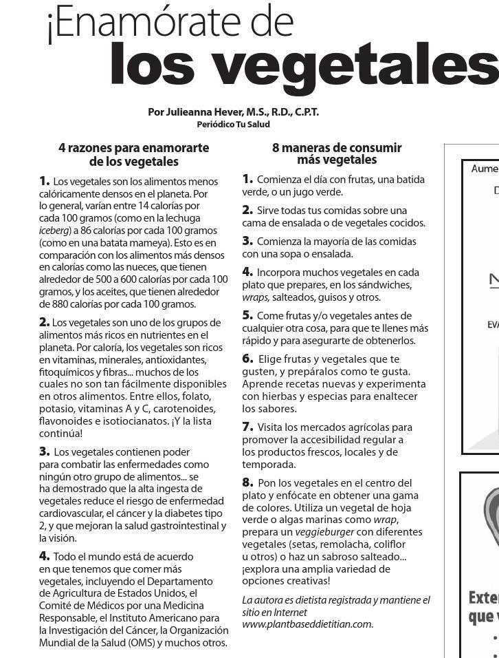 #ClippedOnIssuu desde Tu Salud Edición Enero 2016