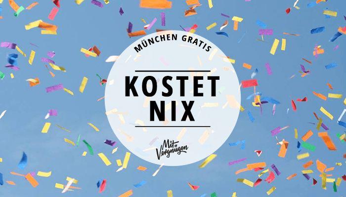 München ist nicht immer teuer. In unserem Kostenlos-Tipps findest du kostenlose Museen, Umsonst-Festivals, Gratis-Yoga im Englischen Garten und vieles mehr.