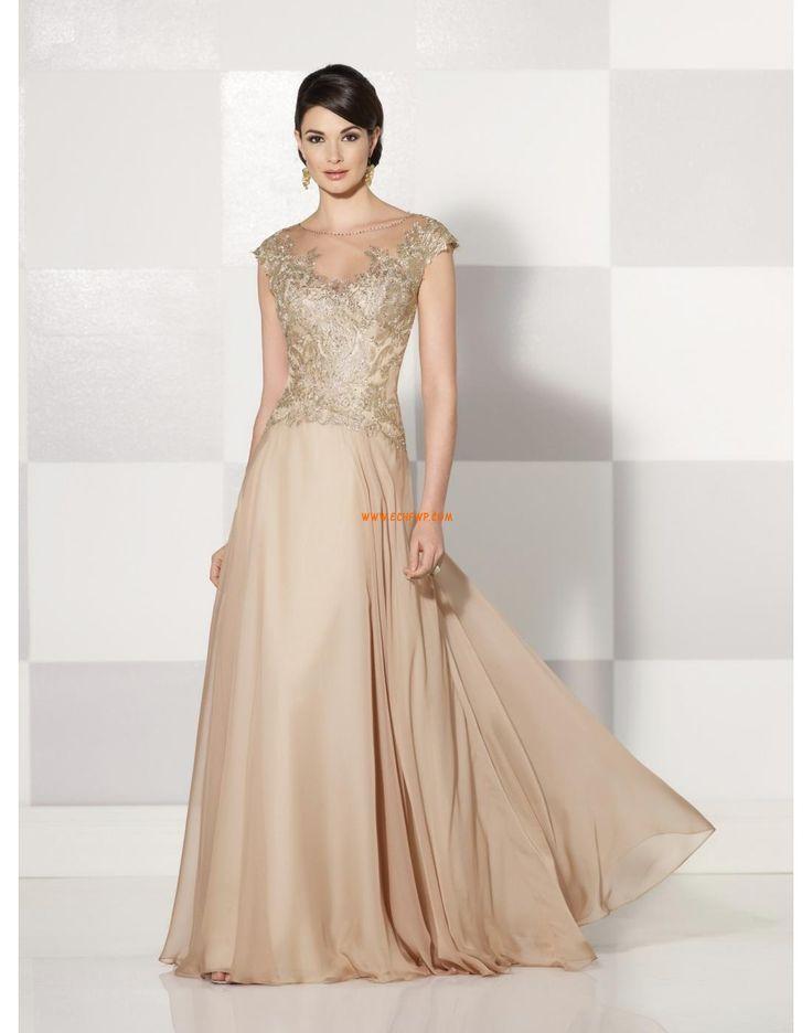 Inspiration vintage Elégant & Luxueux Manche courte Robes de mariée 2015