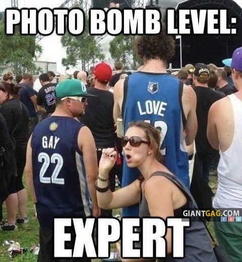 Photo Bomb Level : Expert