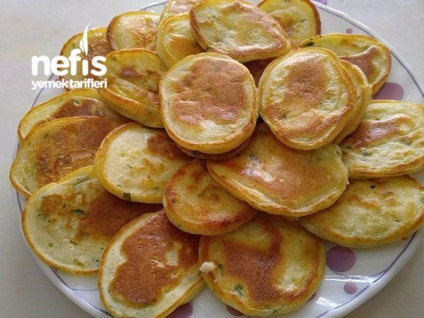 Peynirli Pankek (süper Lezzet)