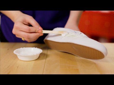 How to Remove Grass Stains from Canvas Shoes - YouTube