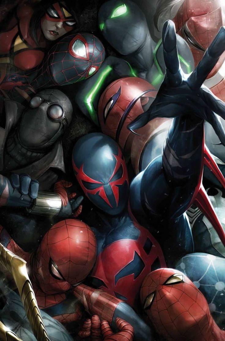 Spider-Man 2099 #8 by Francesco Mattina *