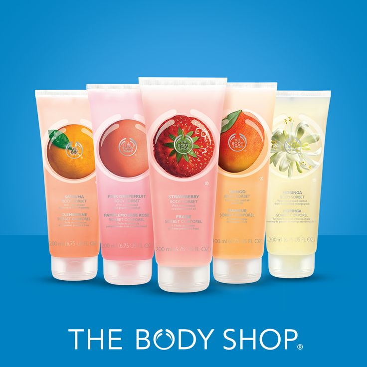 Moisturization has never been so cool! Treat yourself to the frostiest hydration with our new Body Sorbets In Stores Online now!