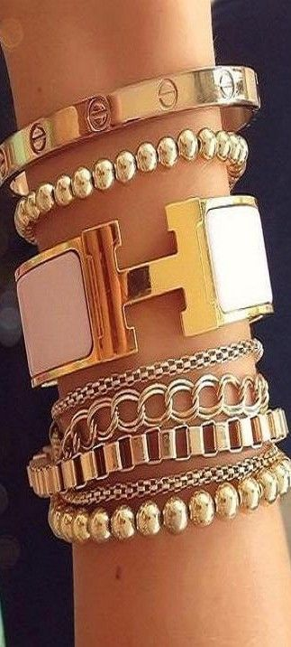 Hermes inspired stack ♥✤ | Keep Smiling | BeStayBeautiful