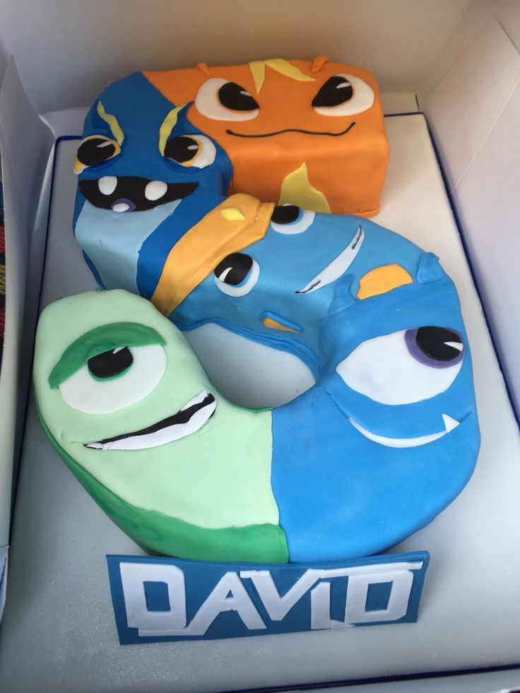 Slugterra cake, designed by me:) for my lovely son David! Desing copy rigth Nesla, thanks @petrascake