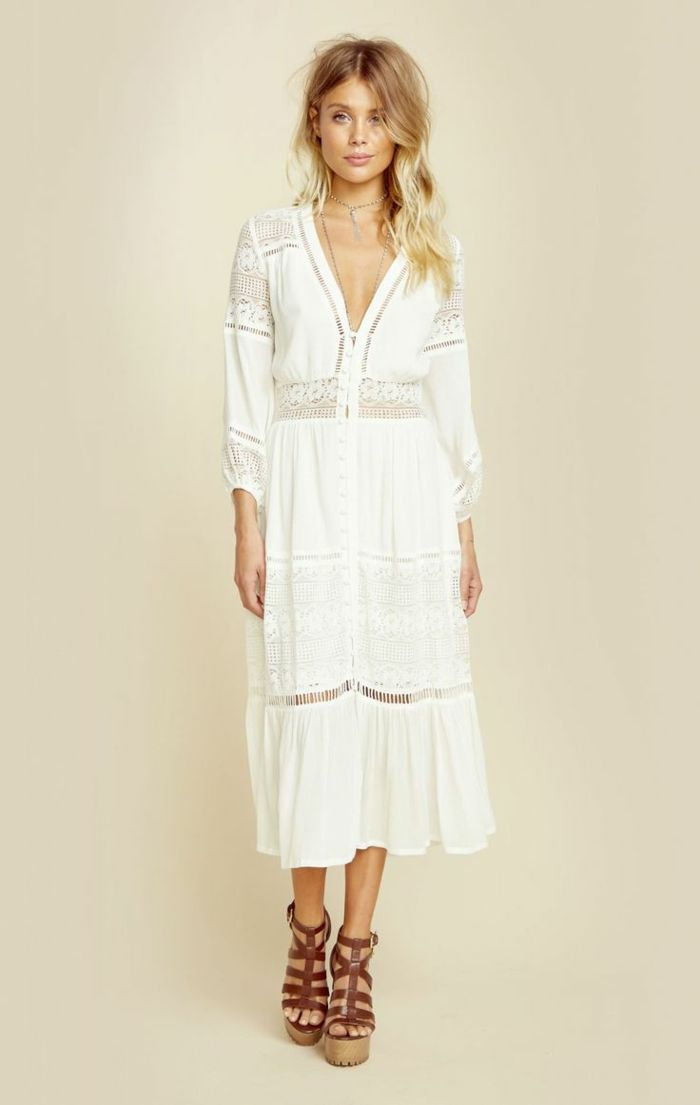 1f408c50f6 ▷ 1001 + Ideas de vestidos ibicencos que te van a encantar ...