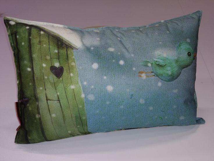 Bijzondere illustraties van #JennyBakker geprint op textiel als een #musthave voor #decoratie in elke kinderkamer