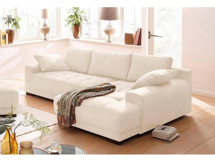 Home Affaire Eck Couch Beige 278cm Recamiere Rechts Roberto