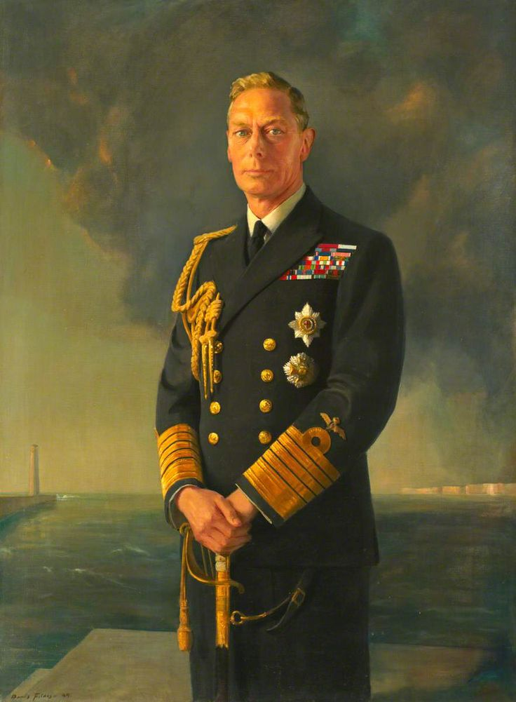 Portrait of H.M. King George VI by Denis Fildes, c. 1949.