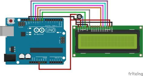 16x2 Character Lcd Display Arduino Tutorial covers lcd display circuit, lcd connection and programming lcd display with Arduino UNO. Programming lcd display is very easy in arduino lcd display tutorial.