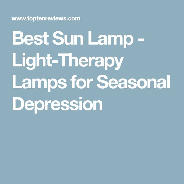 Sun lamp 25