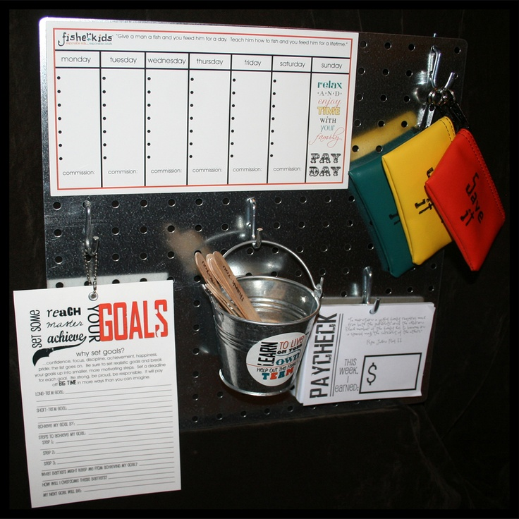Responsibility Station for Teens - my preteen uses this.