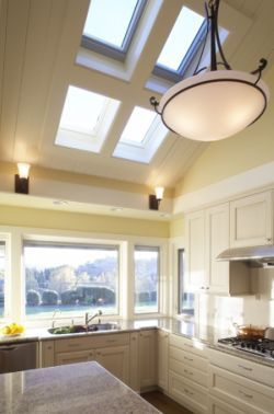 Height of the ceiling accentuated by this beautiful window