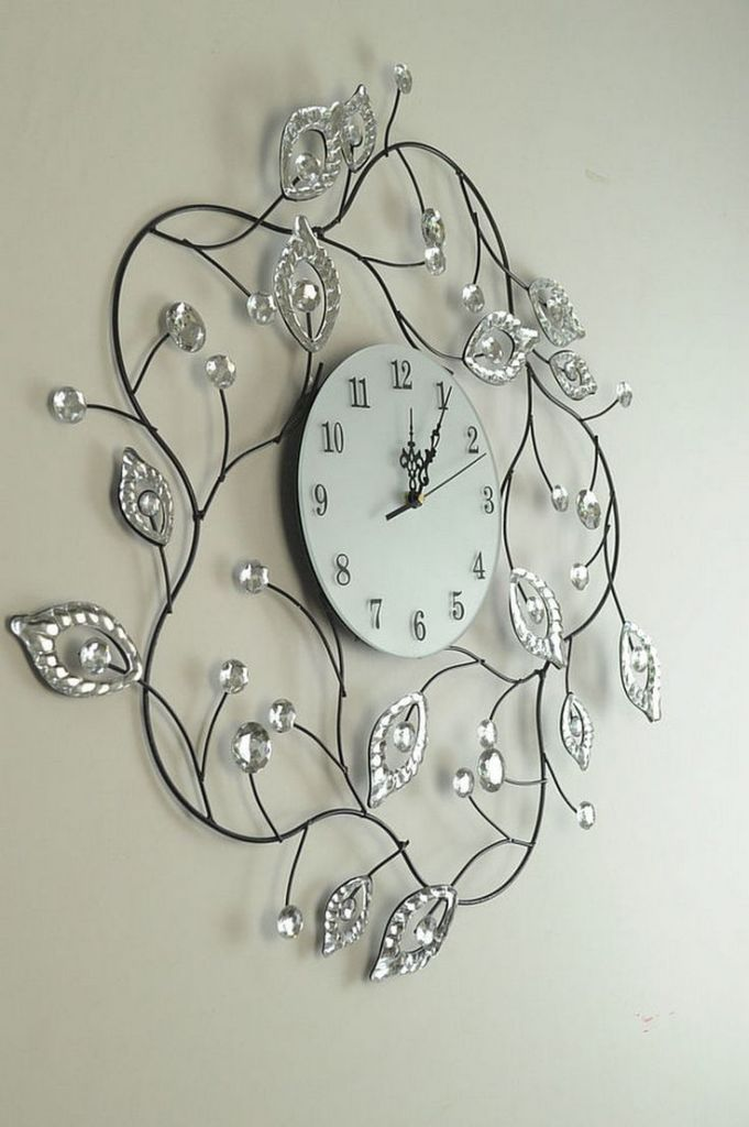 15 besten Uhren Bilder auf Pinterest Wandtattoo uhr, Wanduhren - wanduhren modern
