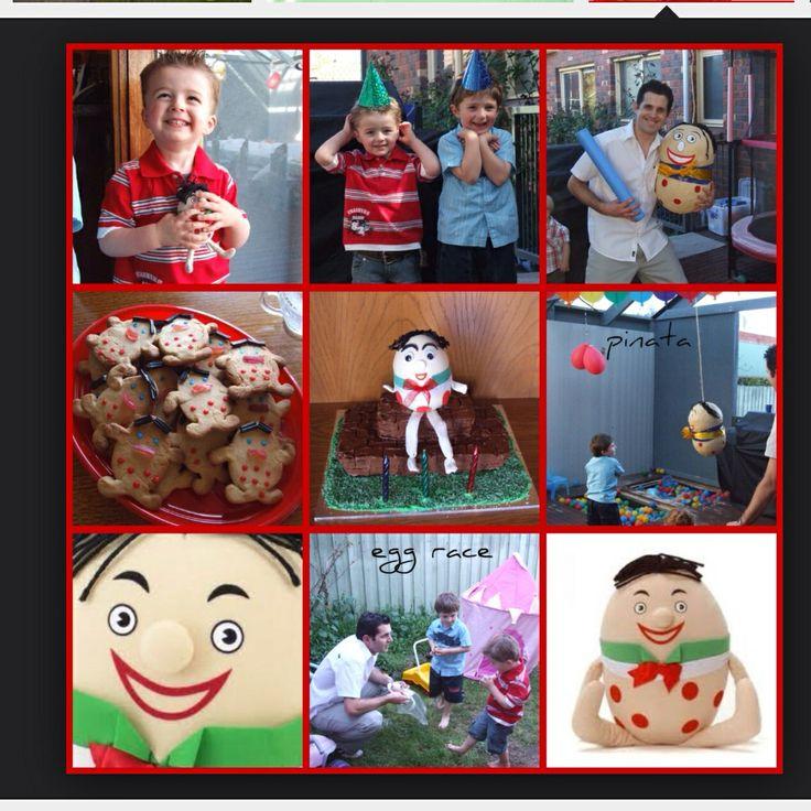 Playschool Humpty Dumpty birthday- google image search