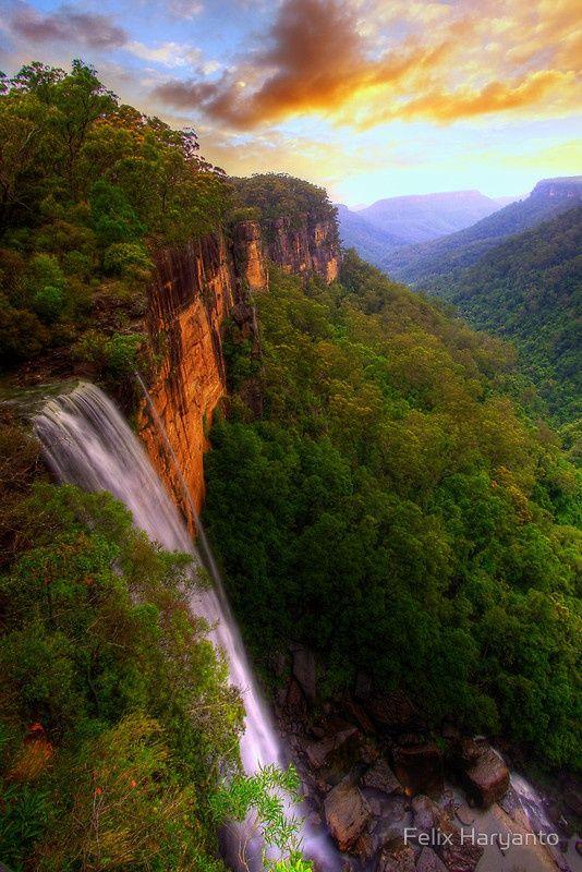 Lovely Fitzroy Falls – Morton National Park, Australia
