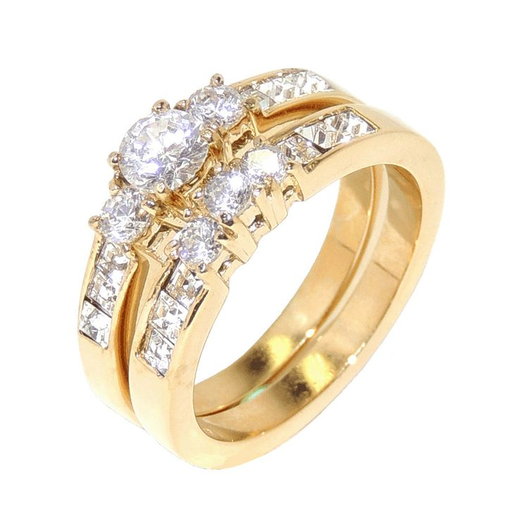 Awesome Womens Wedding Ring Set Lanyjewelry Fashion Jewelry For Men Sets Women