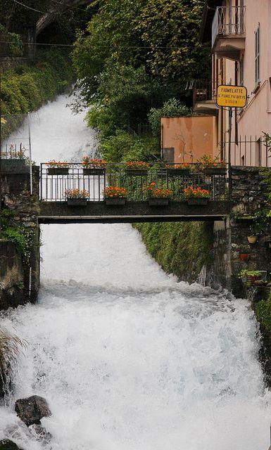Fiumelatte River - Lake Como, Italy