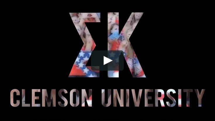Sigma Kappa Clemson recruitment video
