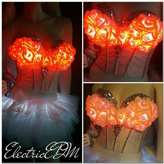 Check out this item in my Etsy shop https://www.etsy.com/ca/listing/209625144/led-rose-corset-36c-rave-bra