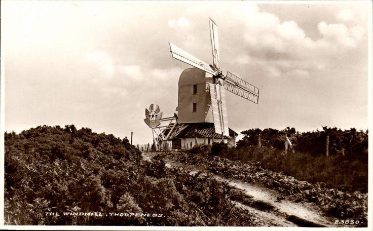 Thorpeness. The Windmill # 23830 by H.G.Crisp, Aldeburgh & Saxmundham. | eBay