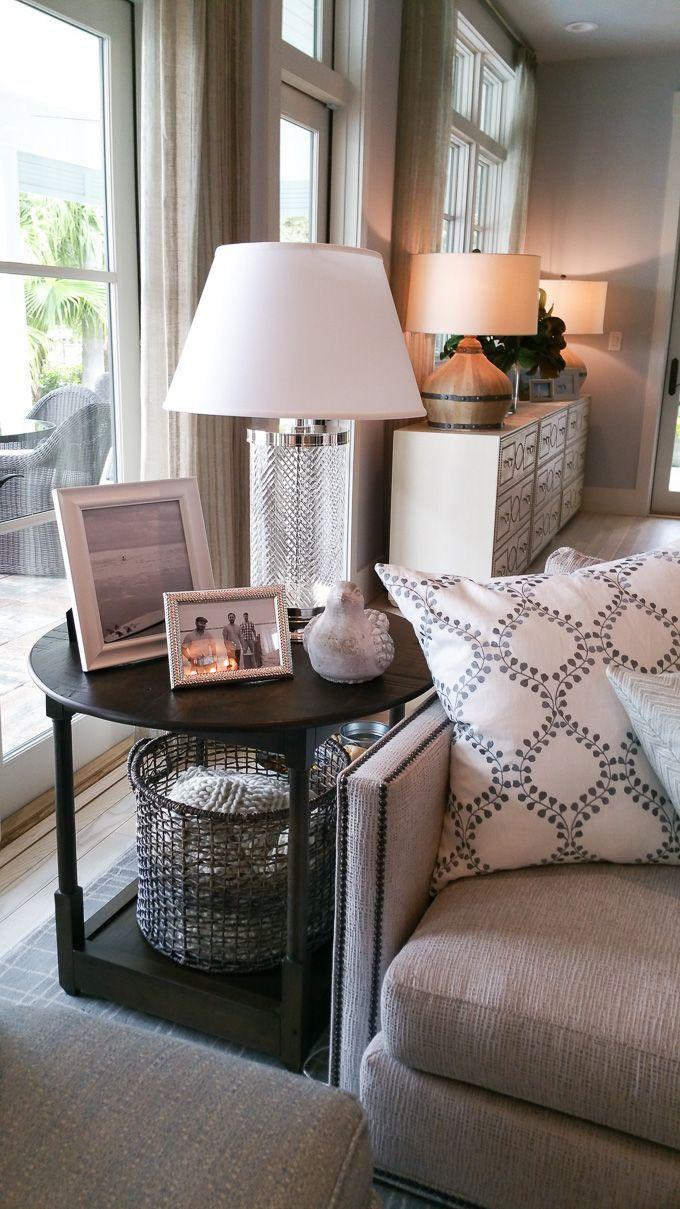 Tour Of The Hgtv Dream Home 2016 Table Decor Living Room Living