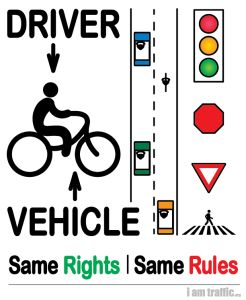 Here's an overview of Florida laws for cyclists.