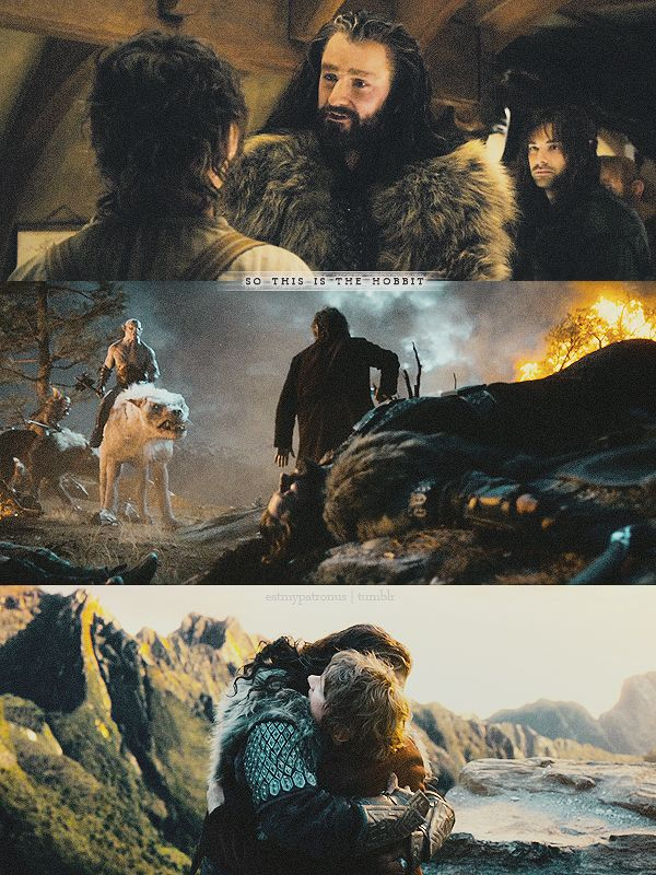 Hobbit doubt, Hobbit protection, Hobbit hug
