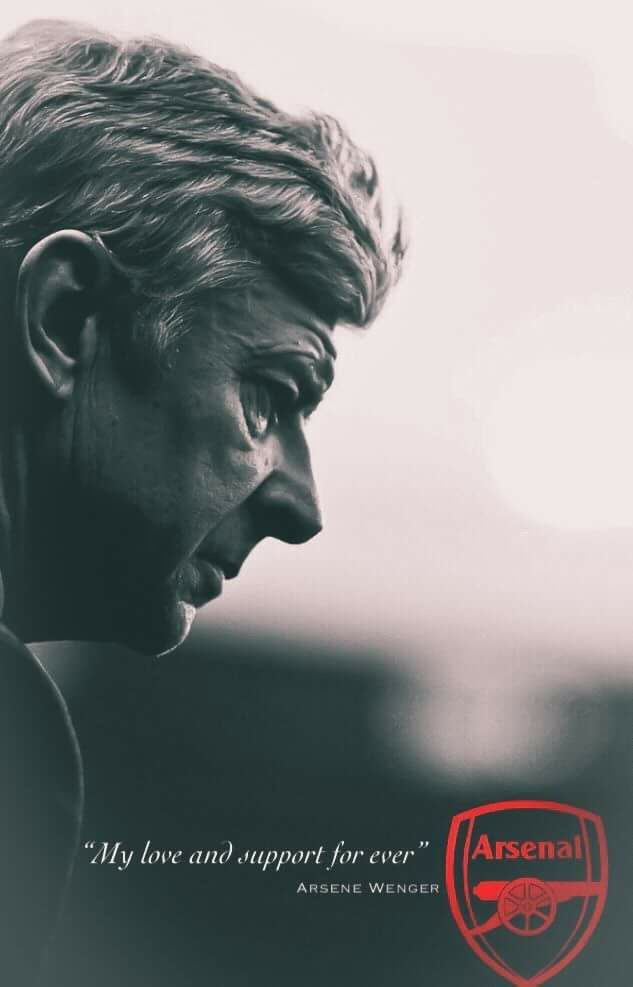A sad day for all... legend that is Wenger #coyg #MerciArsene
