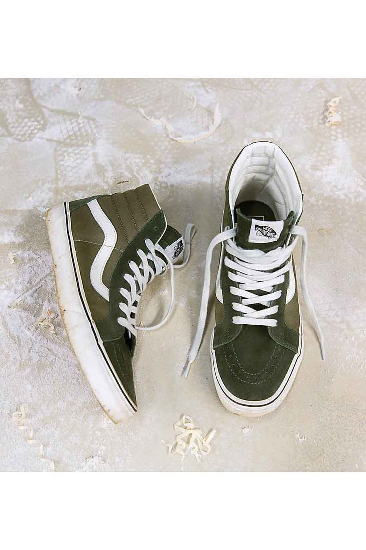 ZEB e-shop Groene schoenen SK8 HI
