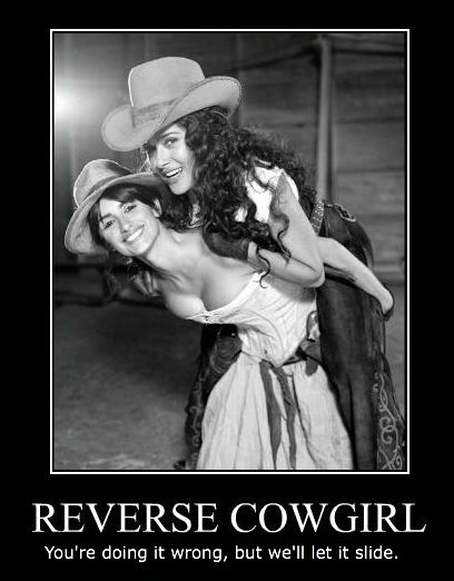 Reverse Cowgirl Sex position!