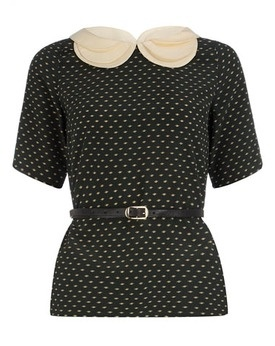 Three collar top, Dorothy Perkins