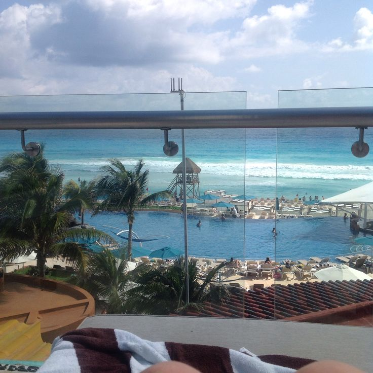 Hard rock hotel, cancun, Mexico   Our view from our room....