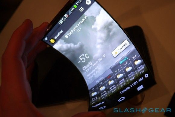 This is an Actual LG Phone releasing next year.  Flexible! #lgphones