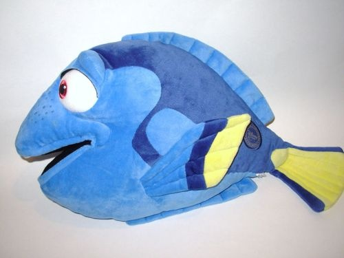 Disney Store Finding Nemo Dory Plush Stuffed Animal Blue