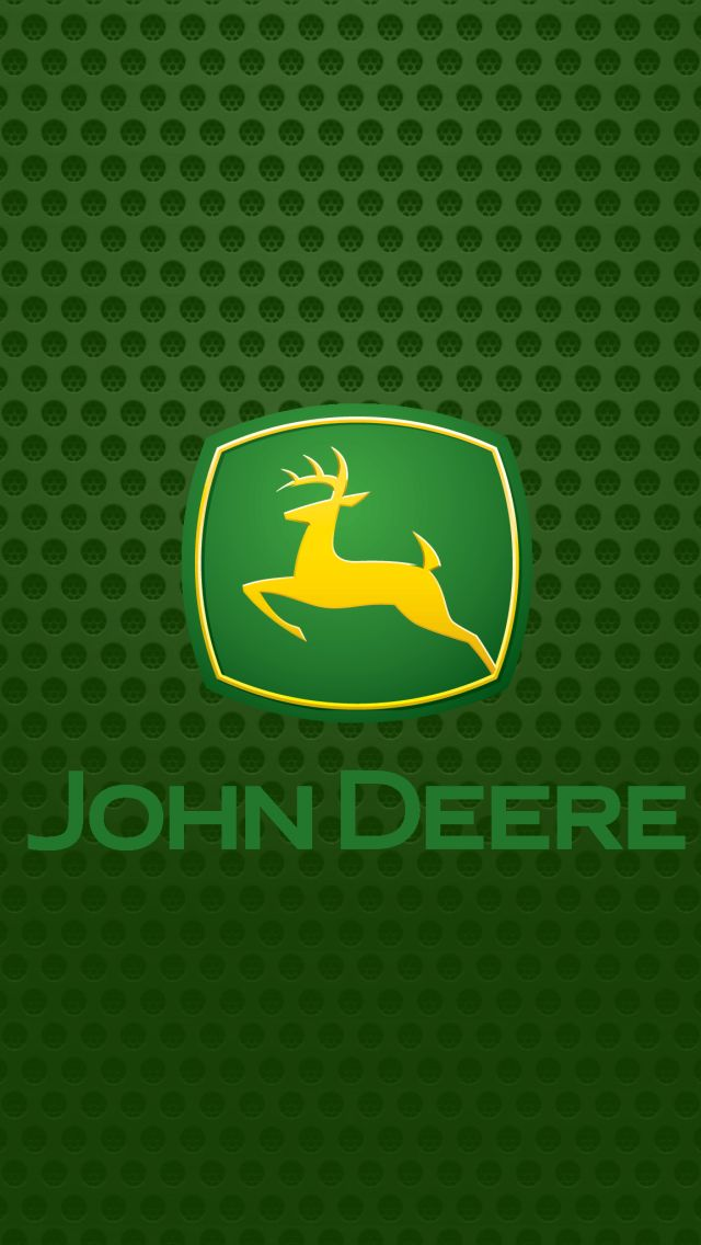 John Deere logo iPhone 5 Wallpapers