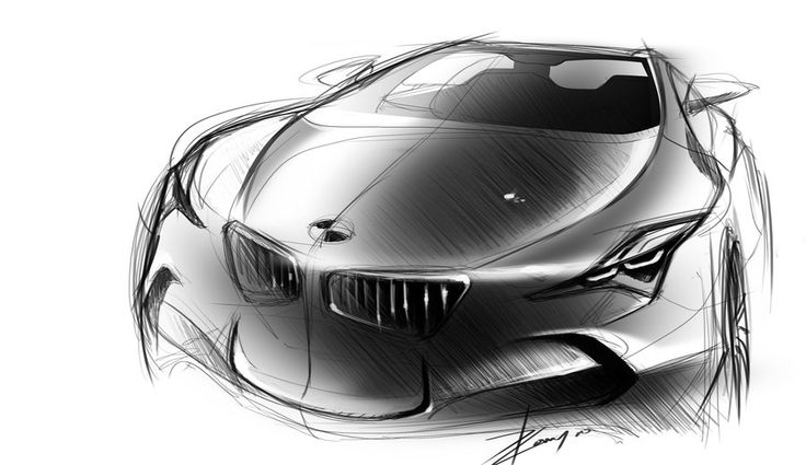 BMW sketch 2 by TonyWcK on deviantART | スケッチ