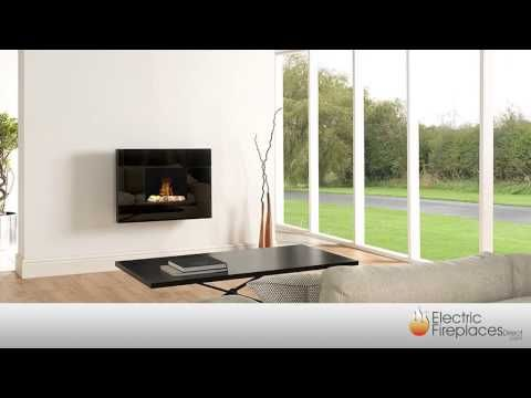 Wall Mount Electric Fireplaces | Electric Fireplaces Direct - YouTube