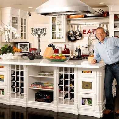 Home Kitchens of 8 Famous Chefs \u2014 Wolfgang Puck