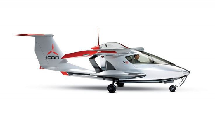 Icon A5 Sport Aircraft | Icon Partners with Cirrus for Production of the A5 Light-Sport Aircraft | Aviation | The Best Luxury Cars, Jets, Yachts, Travel, Watches | Robb Report